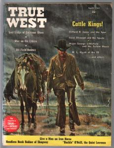 True West 4/1964-Western-hanging art-bank robbery-Kit carson-VG