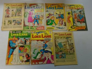 Silver + Bronze age Lois Lane reader comic lot 21 different issues