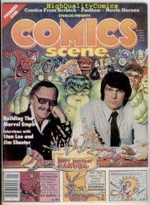 COMICS SCENE #1, VF, Undergrounds, Stan Lee, Sy Barry, 1981