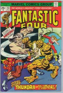 Fantastic Four 151 Oct 1974 VF (8.0)