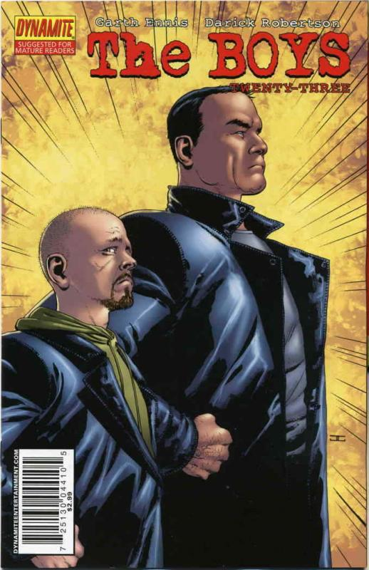 Boys, The #23A VF/NM; WildStorm | save on shipping - details inside