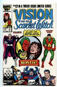 Vision and the Scarlet Witch #12 1985-Vision and Scarlet Witch give birth!