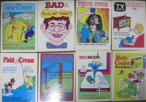FLEER CRAZY COVERS 1974 , MISSING FIVE! 18 Doubles!