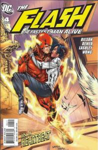 Flash: The Fastest Man Alive #4 VF; DC   save on shipping - details inside