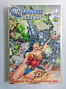 DC Universe Online Legends comic run #1 to #10 8.0 VF 10 different books (2011)