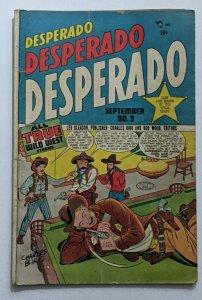 Desperado #3 (Sept 1948, Lev Gleason) Good 2.0 Charles Biro cover