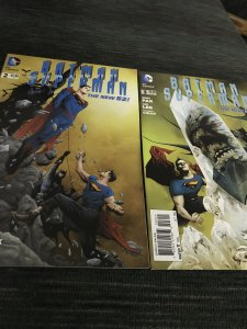 DC Batman Superman #2&3  The New 52 Mint Hot