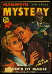 Mammoth Mystery Pulp #1 February 1945- Robert Bloch- Bruno Fischer G+