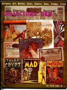 Collector's Den 3/1971-sale ads-comic books-Boy's books-Harrison comic strip-VG