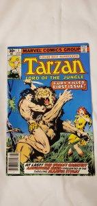 Tarzan #1 - VF - 1st Marvel Appearance of Tarzan