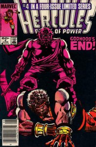 Hercules (Vol. 2) #4 (Newsstand) VG; Marvel | low grade comic - save on shipping