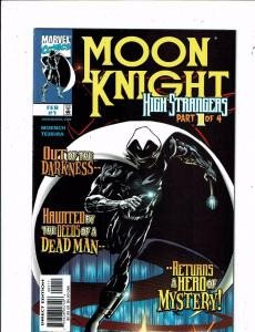 5 Marvel Comics Moon Knight 1 Call Of Duty Juggernaut Legends Silver Surfer J241