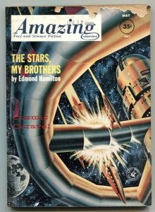 Amazing Stories May 1962- The Stars My Brothers G