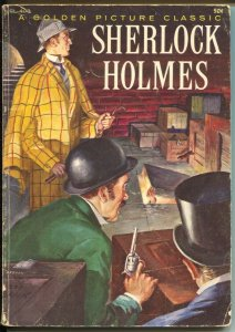 Sherlock Holmes #CL-408-1957-Golden Picture Classic-Tom Gill art-VG