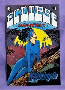 Mark Evanier ECLIPSE MONTHLY #7 Nightingale Mike Sekowsky (Eclipse, 1984)!
