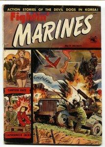 Fightin' Marines #9 Matt Baker Golden-Age 1952-St John-Canteen Kate-VG