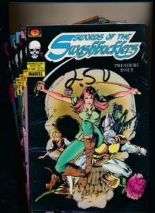 Epic Comics Set of 12 WORDS OF THE SWASHBUCKLERS #1-12 VF/NM (PF61)