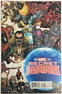 SECRET WARS#8 NM 2015 1 FOR 20 VARIANT MARVEL COMICS