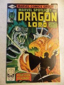 MARVEL SPOTLIGHT # 5 DRAGON LORD DITKO WOLFMAN ACTION ADVENTURE