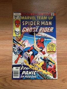 Marvel Team-Up #58 1977 Marvel Comics Spider-Man Ghost Rider