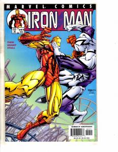 Lot Of 7 Iron Man Marvel Comic Books # 41 42 43 44 45 46 78 Avengers Hulk GM15