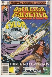 Battlestar Galactica(Marvel) # 16  Will the Cylons Finally Reign Supreme ?