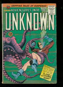 ADVENTURES INTO THE UNKNOWN #157 1965-ATOMIC BOMB ISSUE G