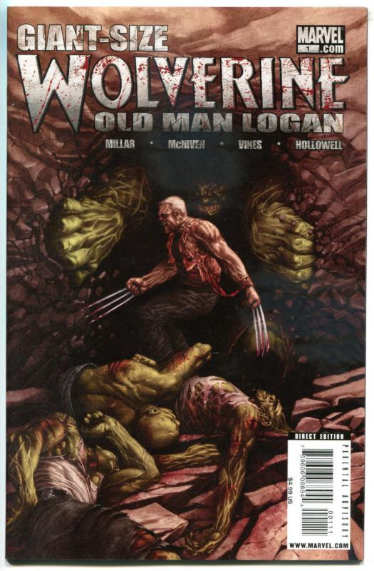 OLD MAN LOGAN Giant-size #1, NM-, 2009, Wolverine, X-men, more Marvel in store