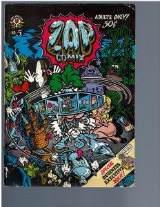 Zap Comix #5 (1970) - 1st Print