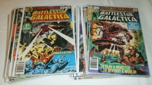 Battlestar Galactica V1 #1-23 (no 9,18,19,20) + Dynamite comic book lot of 34