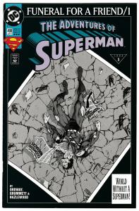 Adventures of Superman #498 3rd Printing (DC, 1993) FN/VF