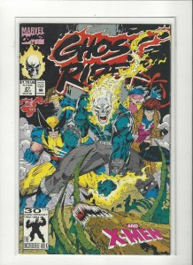 Ghost Rider (1990 series) #27 X-Men NM Near Mint condition. Marvel comics