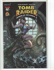 Tomb Raider Sphere of Influence #1 VF/NM dynamic forces cover B w/COA (721/1750)