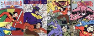 SCARLET THUNDER (1995 AMAZE INK) 1-4 Slings&Arrows!