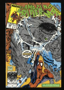 Amazing Spider-Man #328 VF/NM 9.0 vs Hulk! Todd McFarlane Art!