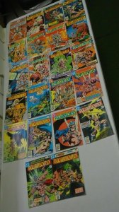 Warlord (1st Series DC), 22 Different, HI Grade (1976-1980)