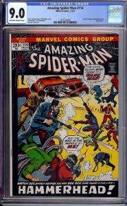 Amazing Spider-Man #114 (Marvel, 1972) CGC 9.0