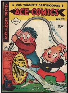 Ace Comics #113 (David McKay Publications, 1946) FN+