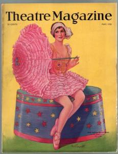 Theatre 5/1926-Martha Bryan Allen-Mussolini-George Jessel-VG