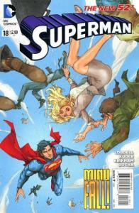 Superman (2011 series) #18, NM (Stock photo)