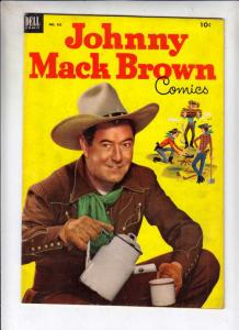 Four Color #455 (Mar-53) FN+ Mid-High-Grade Johnny Mack Brown