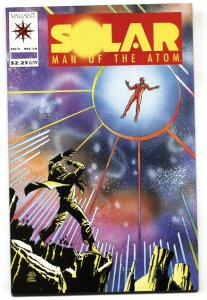 SOLAR MAN OF THE ATOM #14-1992 VALIANT 1st appearance of FRED BENDER / DOCTOR...