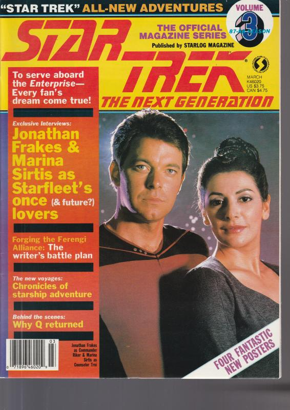 Star Trek Next Generation Vol 3