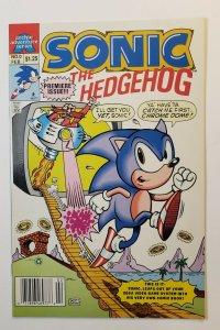 Sonic The hedgehog #0 Archie Adventure Series 1993 VF+ Premiere Issue cartoon
