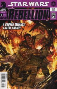 Star Wars: Rebellion #5 VF/NM; Dark Horse | save on shipping - details inside