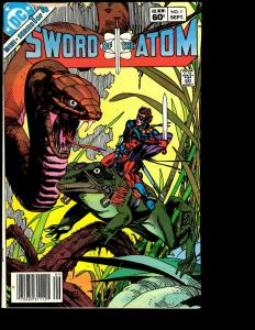 Lot of 7 Comics Sword and the Atom # 1 2 3 4 Special # 1 2 3 JF13