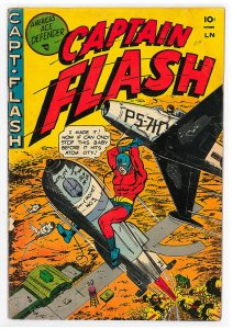 Captain Flash (1954) #1 GD/VG, Hard to find