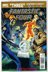 FANTASTIC FOUR #583, VF, Countdown to Casualty, 2010, more FF in store