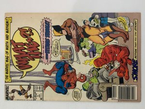 Marvel Comics What The....? The Marvel Mag of Mirth and Mayhem Issue #1 Aug 88