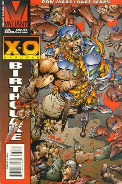 X-O Manowar (1992 series) #44, NM (Stock photo)
